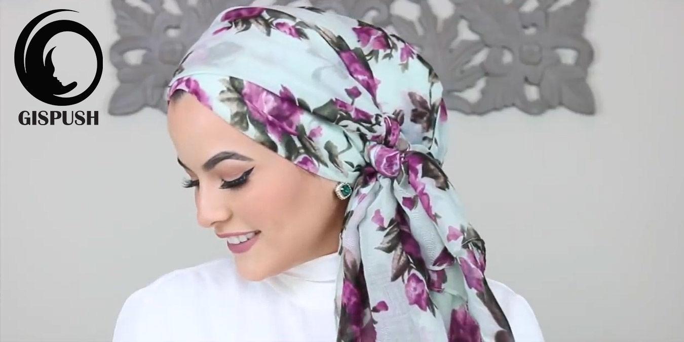 با این مدل بستن روسری، در کمترین زمان هم میتوانی شیک پوش باشی!